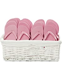 884f7db5ffa579 Zohula Flip Flops Wedding Favour Baskets - 20 Pairs - Choice of Colours    Sizes