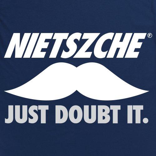 Nietszche T-Shirt, Herren Marineblau