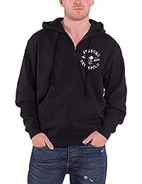 Avenged Sevenfold Sweat-shirt à capuche band Flourish Homme nouveau Noir Zipped