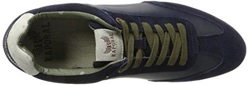 Kaporal Kalvin, Baskets Basses Homme Bleu (Marine)