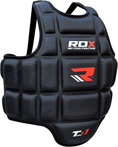 rdx-boxing-chest-guard-mma-body-protector-martial-arts-rib-shield-armour-taekwondo-training
