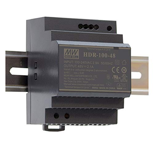MEAN WELL HDR-100-12 Hutschienen-Netzteil (DIN-Rail) 12 V/DC 7.1A 85.2W 1 x
