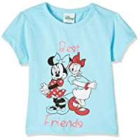 Disney Baby Girls Mickey & Friends T-shirts, Blue, 12-18 Months