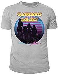 Marvel Comics - Guardians of the Galaxy Herren T-Shirt - Mixtape (Hellgrau) (S-XL)