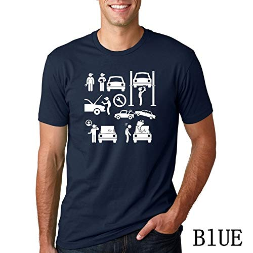 04291c57 Summer Style Evolution Auto Mechaniker Mechanic Car T-Shirt Tops Funny Gift T  Shirt For Men's tee