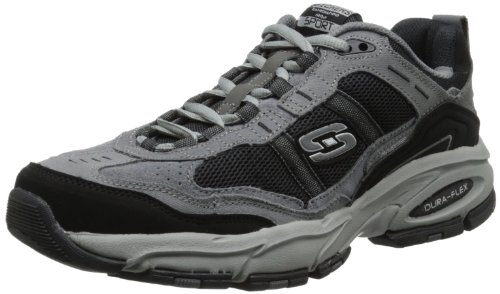 Männer Verkauf Stiefel Auf Die (Skechers Vigor 2.0, Herren Sneakers, Grau (CCBK), 42)