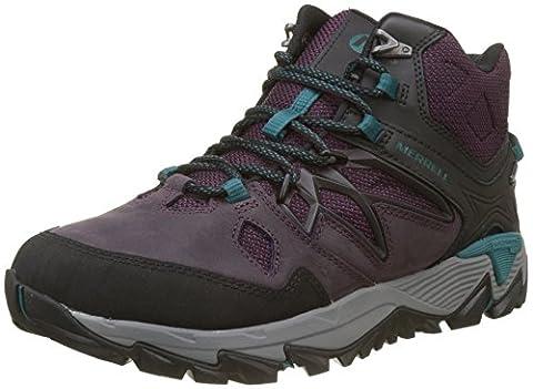Merrell Women's All Out Blaze 2 Mid Gtx High Rise Hiking Boots, Purple (Berry), 7 UK 40.5 EU