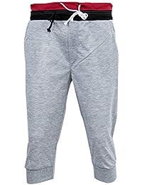 5a2288fa9b43e SODIAL (R) Hombres Pantalones de Deportes Harem Formacion en danza holgado  basculador casuales cortos