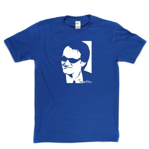 Quentin Tarantino Kill Bill Pulp Fiction Director Movie Film Fan Tee T-shirt Königsblau