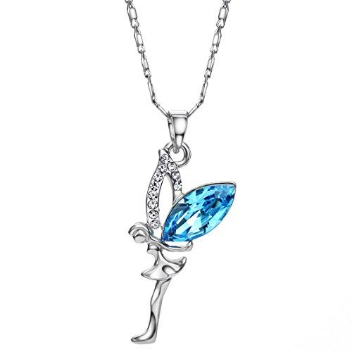 Neoglory Jewellery mit original Swarovski® Elements Halskette Engel (Dance Kostüme War)