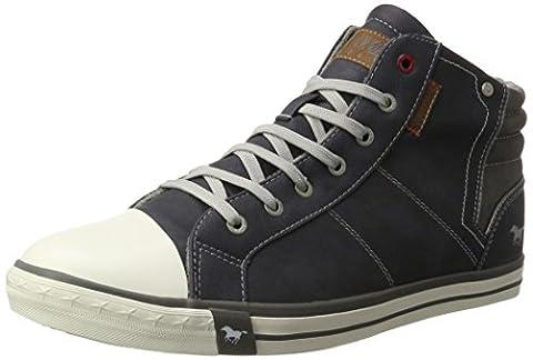 Mustang Herren 4096-501-800 Hohe Sneaker, Blau (Dunkelblau), 48 EU