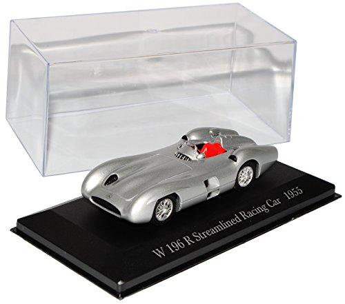 Mercedes-Benz W 196 R Stromlinie Rennwagen Silber 1955 Inkl Zeitschrift Nr 70 1/43 Ixo Modell Auto (1955 Zeitschrift)