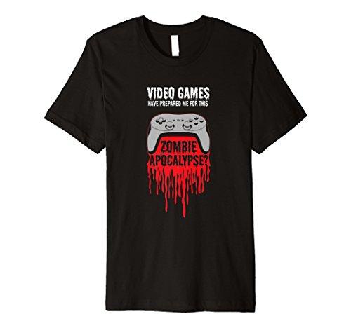 Gamer T-Shirt Zombie Apocalypse? Ich bin -