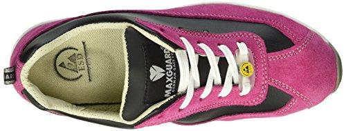 Maxguard Dolly D378, Chaussures de Sécurité Mixte Adulte Rose