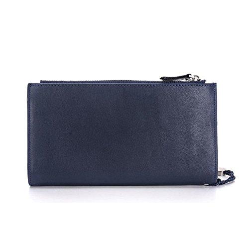 Neutral Kopf multifunktionale Brieftaschen/Clutch-Tasche/ Ms Männer Business Geldbörse Clip-C A