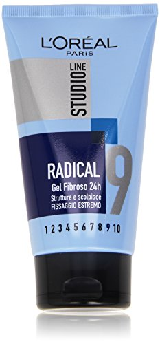 L'Oréal Paris Studio Line Radical Gel Fibroso Fissaggio Estremo, 150 ml