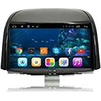 TOPNAVI Radio de Coche de 8 Pulgadas para Renault Koleos 2009 2010 2011 2012 2013 2014 2016 2016 2016 Android 6.0 Coche estéreo Coche GPS Navegación WiFi 3G ...