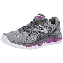 New Balance Rubix, Zapatillas de Running para Mujer, Gris (Lead/Voltage Violet/Steel GB), 40.5 EU