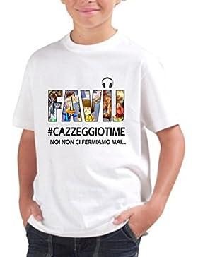 T BModa E Di Design Bambino Italiana Cotone Shirt Del Ragazzo y7Yfb6vg