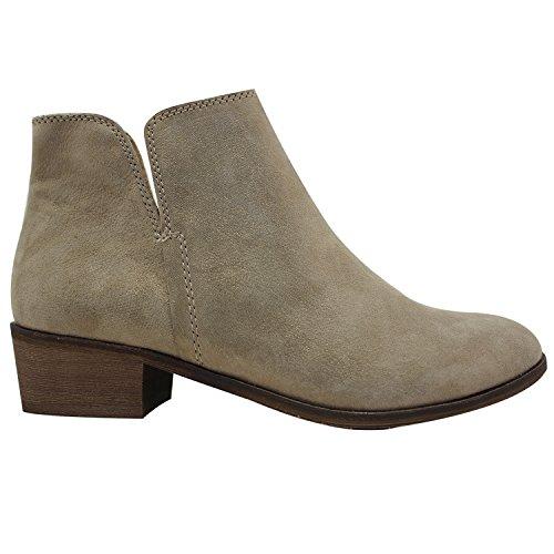 c43f3269008ae6 LiKing 45-1 Damen Chelsea Boots Kurzschaft Stiefel Echt Leder (Fällt eine  Nummer kleiner ...