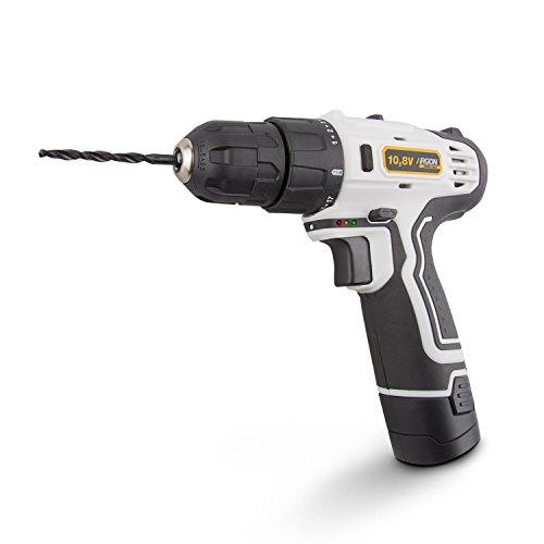 Argon Power Tools 46243 - Taladro atornillador de batería de litio (10.8V,...