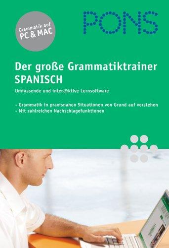 PONS - Der große Grammatiktrainer Spanisch