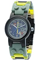 LEGO Star Wars Yoda Kids Buildable Watch with Link Bracelet and Minifigure