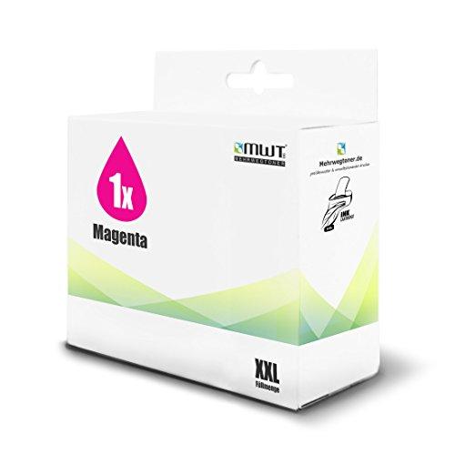 1x MWT Druckerpatrone für HP DesignJet 10 100 110 111 120 20 50 70 PS NR PSN Plus ersetzt 11 NO11 Magenta -