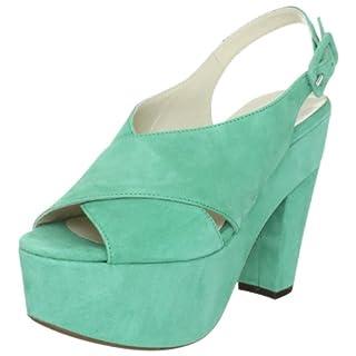 L'Autre Chose Damen Sandalo Donna Fashion-Sandalen, Grün (Menta 6025), 39 EU