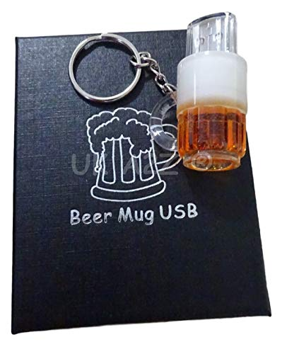 Uk a2z ® cartoon boccale di birra usb flash drive 32gb (confezione regalo)