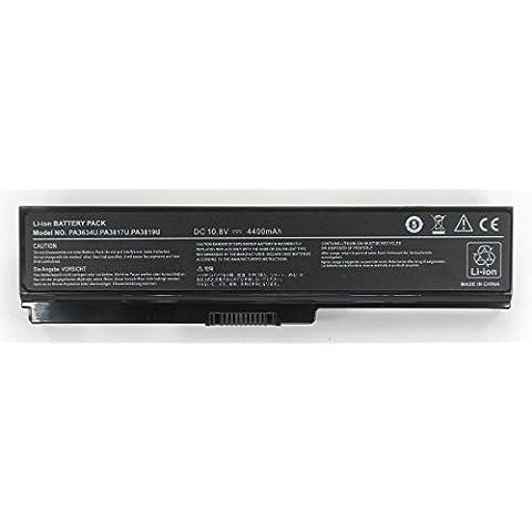 Batería Compatible Para TOSHIBA SATELLITE C660D-SC-A2K SC660D A2K Color Negro Para Portátil