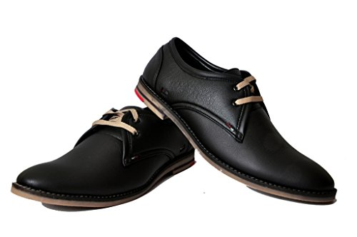 West Code Men's Synthetic Leather Semi Formal Shoes
