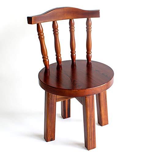 GLJ stool LJJL Stabile Bank, Hocker aus Massivholz, 56 x 38 x 35 cm, für Erwachsene, Haushalt, Kleiner Hocker aus Holz
