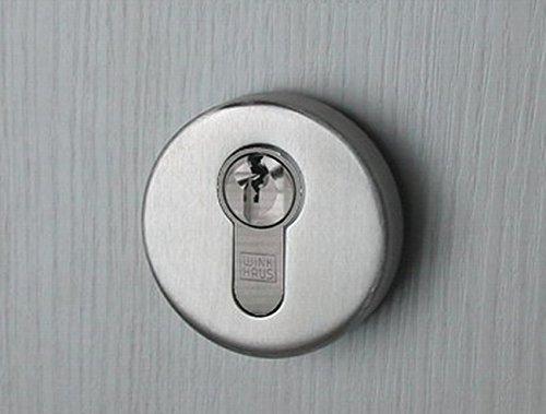 Preisvergleich Produktbild Edelstahl Türbeschlag Moskau-II WC Drückergarnitur Türbeschläge Türdrücker