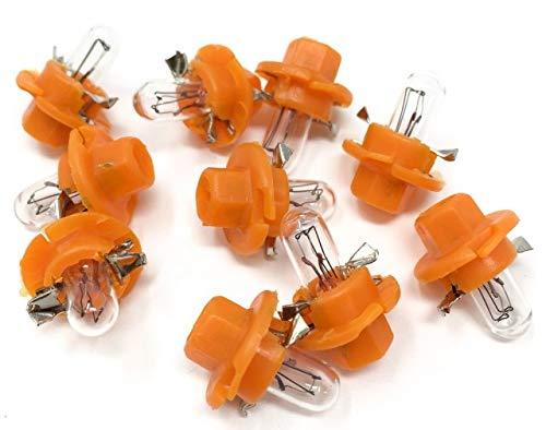 [10 Stück] ZOLLEX 12V 1.1W 22046 Armaturenbrett Halogen lampen BAX BX8.4d eine Box(10 Lampen) 1.1