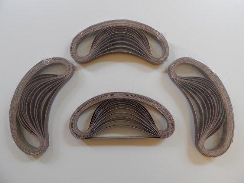 48 Stück SBS Gewebe-Schleifbänder 13 x 451 Körnungen je 8x 40/60/80/120/180/240 für Black & Decker Powerfeile