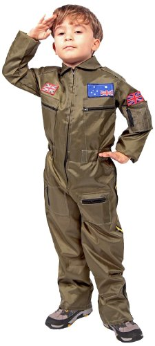 Mädchen Kostüm Pilot (Folat 21694 - Kinderkostüm)