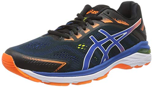 Asics Gt-2000 7, Zapatillas de Running para Hombre, Negro (Black/Lake Drive 001), 42 EU