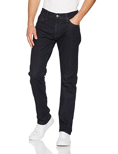 Mavi Herren Straight Jeans Marcus Blau (Rinse Comfort 23744)