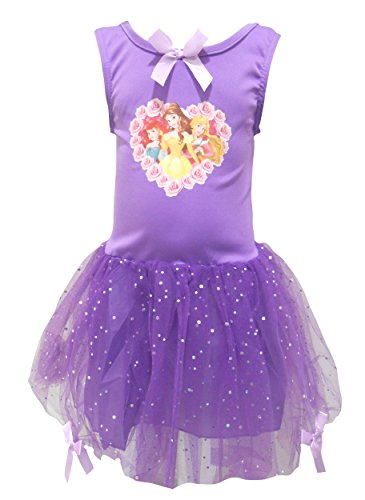 Disney Prinzessin Dark Purple Party Tutu Fancy Kleid Kostüm (3-4 Jahre) (Princess Tutu Kostüm)