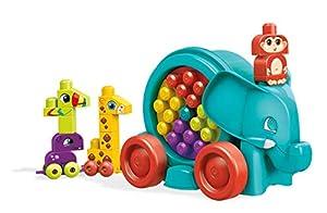 Mega Bloks Bloquefante divertido. Jugete de construcción para bebé +1 año (Mattel FFG21)
