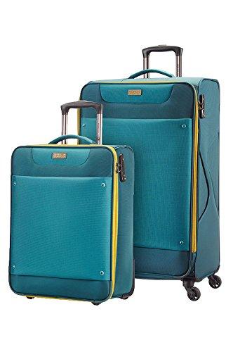 American Tourister Set de Bagages Ocean Grove 2 Pièces 79 cm Bleu (Petrol Blue/Moutarde) 63022/4454