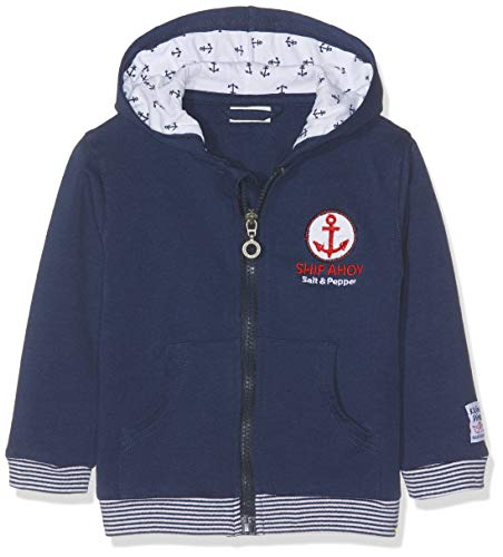 SALT AND PEPPER Baby-Jungen Jacke B Jacket Pirat Uni Kap Blau (Classic Blue 486) 74