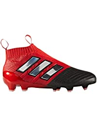 reputable site c5202 c09cc adidas Ace 17+ Pure Control FGAG Enfants - Crampons de Foot - Rouge