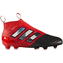 new concept 6f4a6 32cf0 Adidas Ace 17+ Purecontrol rojo Limit FG botas de fútbol para niños, niño,