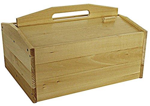 protectore protectore Schuhputzkiste GO (aus Holz, leer, ohne Inhalt) - Schuhputz Set