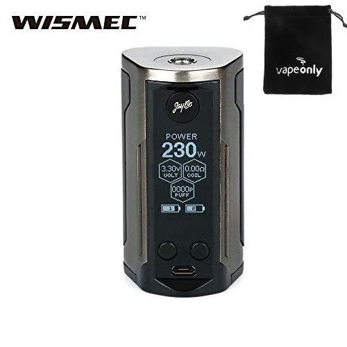 WISMEC Reuleaux RX GEN3 Dual 230W TC Caja MOD Sin batería No e Líquido, sin nicotina (Cepillo de bronce)