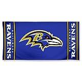 NFL Licensed Beach Towel Baltimore Ravens