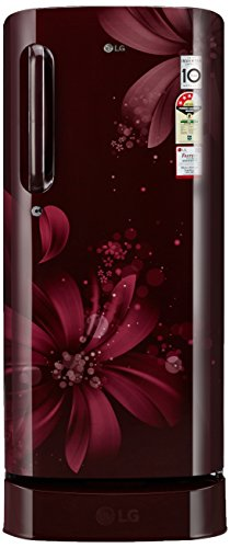 LG 190 L 3 Star Direct-Cool Single Door Refrigerator (GL-D201ASAW.ASAZEBN,...
