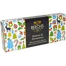 Beechs Fine Chocolates Figuras de navidad Praliné Chocolate con Leche Relleno Con Caramelo Suave - 2